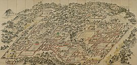 Korean art-Donggwoldo-Changdeokgung and Changgyeonggung-Dong-A University-01.jpg