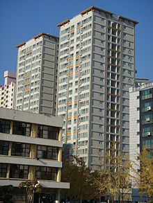 Typical Tower Block Apartment In South Korea Part 87