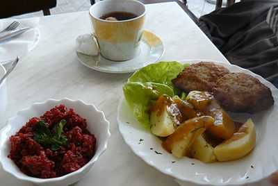 typical polish meal