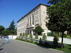 Gherardo Bosio - Office of the Prime Minister of Albania, built by Bosio in Rationalist style