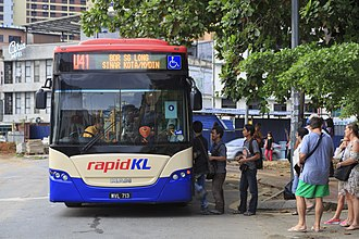 Rapid Bus - Rapid KL MAN 18.280 HOCL-NL (A84 chassis)