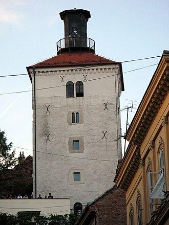 Lotrščak Tower - Tower of Lotrščak
