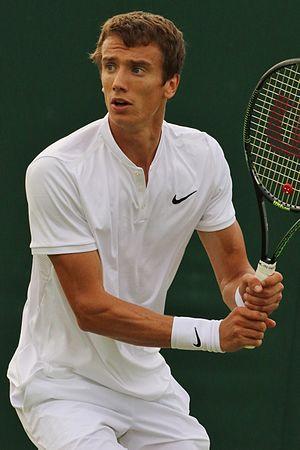 Andrey Kuznetsov (tennis) - Kuznetsov playing at the 2016 Wimbledon Championships