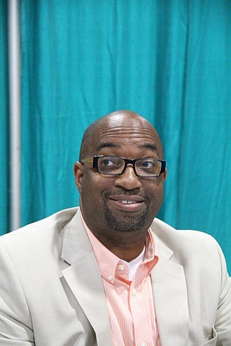 Kwame Alexander - Alexander at the 2015 National Book Festival
