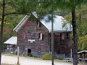 Kymulga Mill & Covered Bridge - Kymulga Mill near Childersburg, Alabama