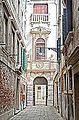 L'entrée du Palazzo Grimani (Venise) (15215720509).jpg