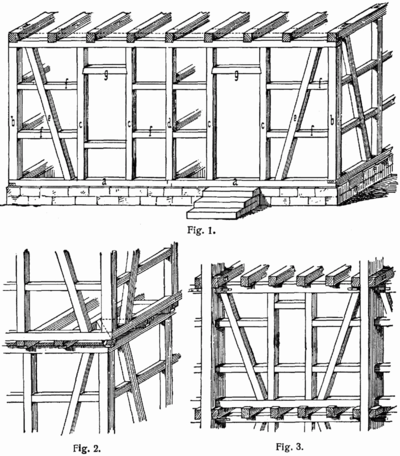 Fachwerkhaus on door framing details