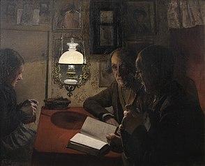 Husmandsfolk aftensskumring