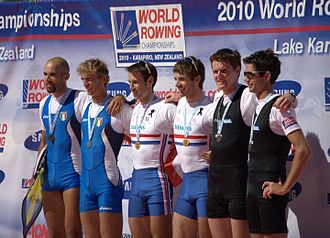 2010 World Rowing Championships - LM2x medallists