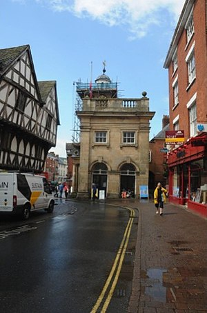 William Baker of Audlem - Ludlow Buttercross from the east