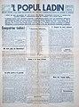 L Popul Ladin prima plata N.1 agost 1946.jpg