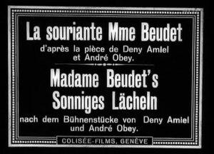 File:La Souriante Madame Beudet.webm