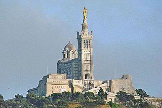 basilica located in Bouches-du-Rhône, in France