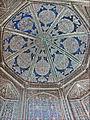 La coupole du mausolée Pakhlavan Makhmoud (Khiva, Ouzbékistan) (5597521898).jpg