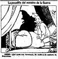 La pesadilla del ministro de la Guerra, de Tovar, La Voz, 5 de diciembre de 1921.jpg