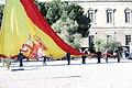 La plaza de Colón de Madrid acoge el izado de bandera en honor a San Isidro 00.jpg