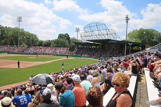 Intercounty Baseball League - Labatt Park in London, ON, home of the London Majors.