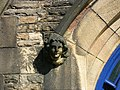 Label stop at St Mary's Church, Lowton Common, Manchester 02.jpg
