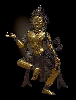 Labit - Dâkinî - Minor Goddess - Tibet 19th century.jpg