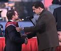 Lacava y Nicolás Maduro.png