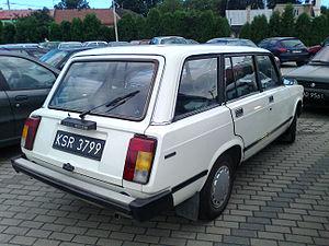 Lada Riva - VAZ-21043 rear