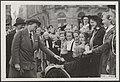 Lady Baden Powell, die een rondreis door Europa maakt, woonde een demonstratie b, Bestanddeelnr 052-0865.jpg
