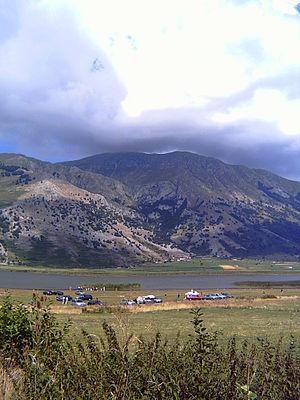 2002 Giro d'Italia - Image: Lago del Matese