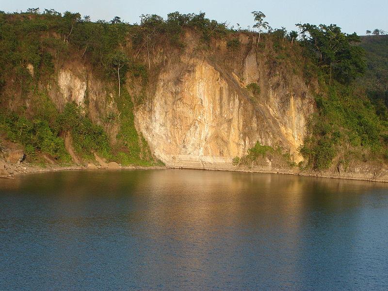 laguna en Siuna