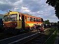 Lajosmizse–Kecskemét az első vonat 2010-07-04.JPG