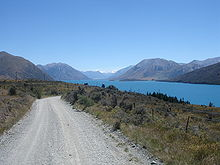 Lake Coleridge New Zealand Road (2167259565).jpg