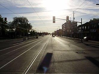 Long Branch, Toronto - View of Long Branch from Lake Shore Boulevard