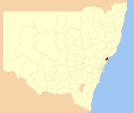 Where is lake macquarie