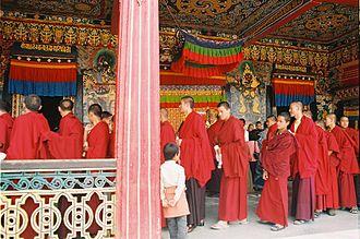 Mulasarvastivada - Tibetan Buddhist bhikṣus of the Mūlasarvāstivāda ordination lineage