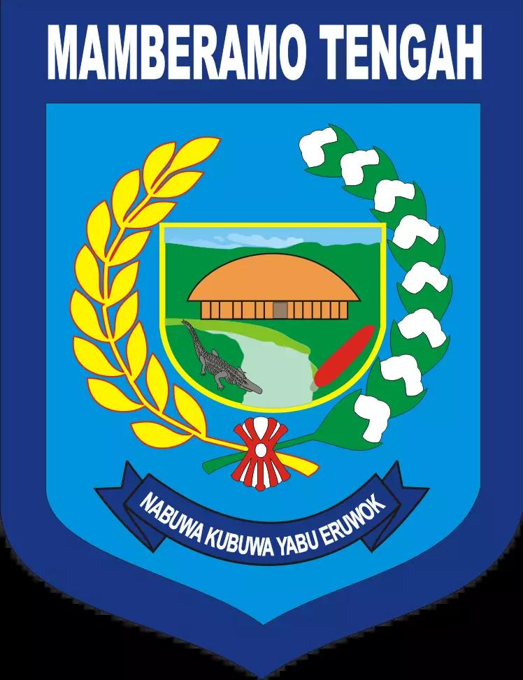 Berkas Lambang Kabupaten Mamberamo Tengah Webp Wikipedia Bahasa Indonesia Ensiklopedia Bebas