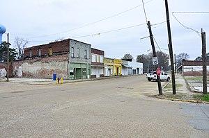 Lambert, Mississippi - Darby Avenue in Lambert