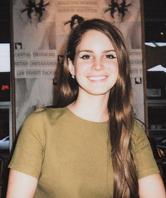 Lana Del Rey - Del Rey at a fan meet promoting Born to Die in Seattle, Washington in 2012.
