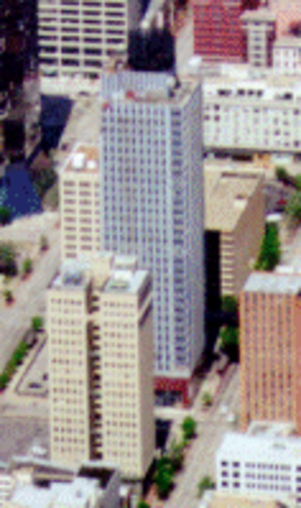 Landmark Tower (Fort Worth, Texas) - The building in 2000