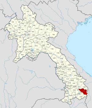 Sanxay District - Image: Laos Sanxay District