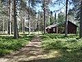 Lapin metsämuseon pihapiiriä.jpg