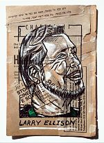 Larry Ellison Portrait Painting Collage By Danor Shtruzman.jpg