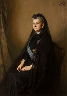 Portrait of Queen Olga of Greece