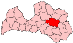 Madona District - Image: Latvia Madona