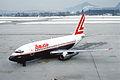 Lauda Air Boeing 737-2T5; OE-ILE, March 1986 BLE (5288937118).jpg