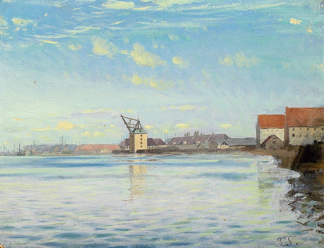 Laurits Tuxen - Kшbenhavns havn.png