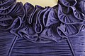 Lavender evening gown by Sybil Connolly neck detail.jpg