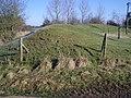 Lavendon Castle Earthworks - II - geograph.org.uk - 339246.jpg