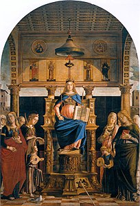 Lazzaro Bastiani - St Veneranda Enthroned - WGA01496.jpg