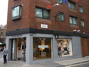 Le Coq Sportif - Le Coq Sportif shop, Mercer Street, London