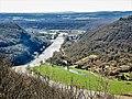 Le Doubs, au sud de Besançon, vu, du châtel-derrière.jpg