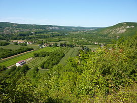 The Dordogne Valley at Le Roc